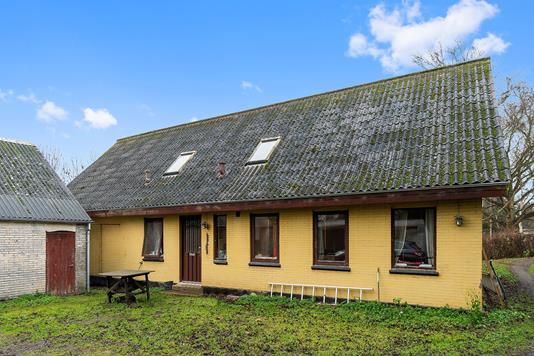 Villa på Kåstrupvej i Kalundborg - Set fra haven