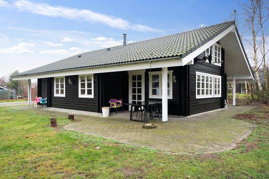 Fritidsbolig på Granlygårdsvej i Kalundborg - Set fra haven