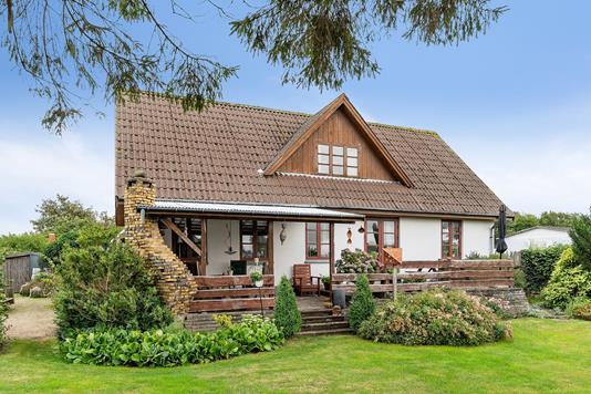 Villa på Hovedgaden i Svebølle - Set fra haven