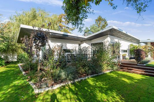 Villa på Toftebjerg i Kalundborg - Set fra haven