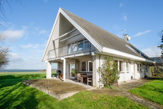 Villa på Bødkervænget i Høng - Set fra haven