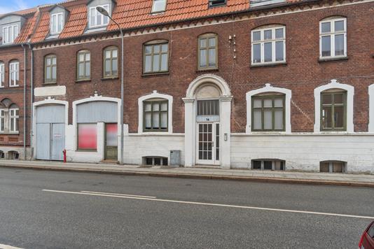 Ejerlejlighed på Nygade i Kalundborg - Bag facade