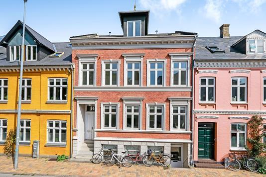 Villa på Absalonsgade i Odense C - Ejendommen