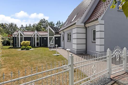 Villa på Ambrosius Stubs Vej i Odense C - Have