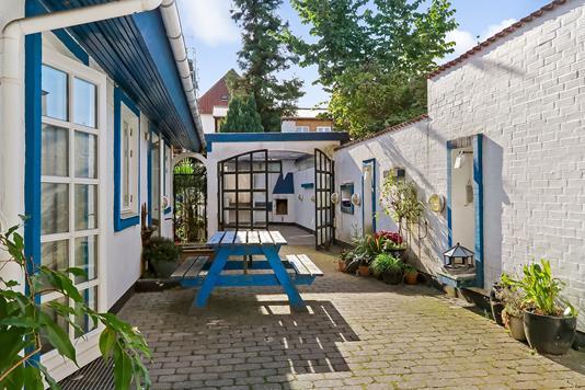 Rækkehus på Benediktsgade i Odense C - Terrasse