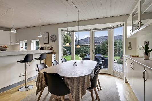 Villa på Bjørnemosevej i Odense S - Stue