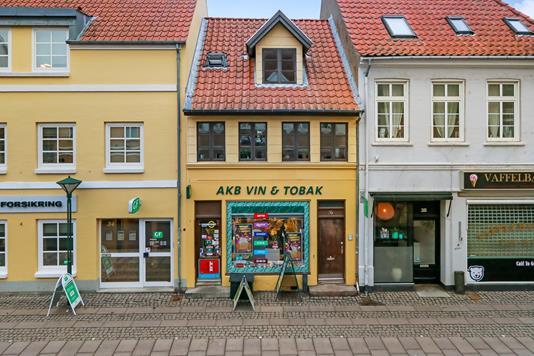 Villa på Overgade i Odense C - Ejendommen