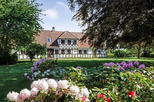 Villa på Hindsholmvej i Mesinge - Ejendommen