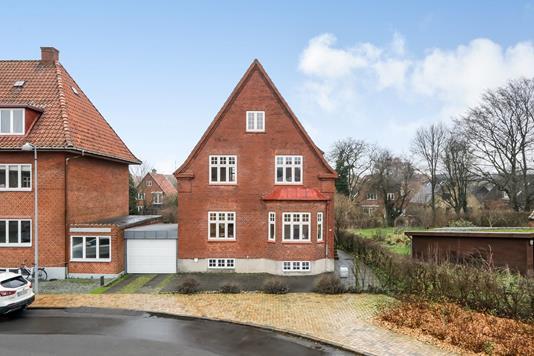 Villa på Haraldsgade i Odense C - Ejendommen