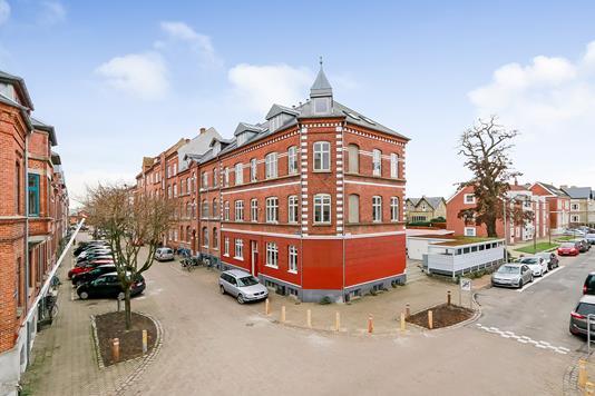 Ejerlejlighed på Oluf Bagers Gade i Odense C - Ejendommen