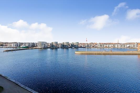 Ejerlejlighed på Midtermolen i Nyborg - Område