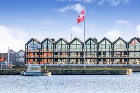Ejerlejlighed på Midtermolen i Nyborg - Ejendommen