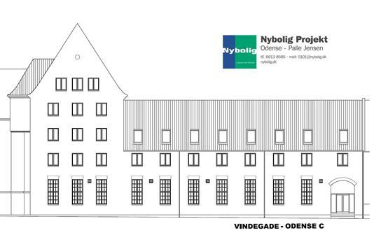 Ejerlejlighed på Vindegade i Odense C - Andet