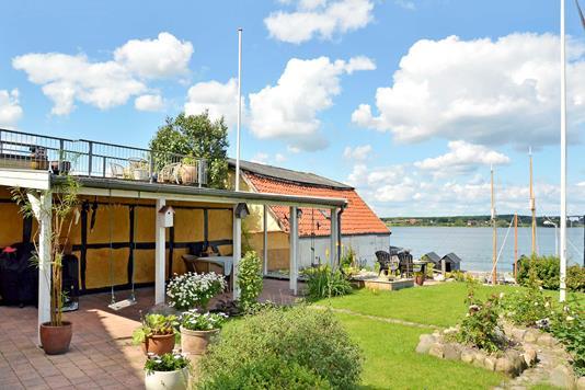 Villa på Gl Vestergade i Middelfart - Have