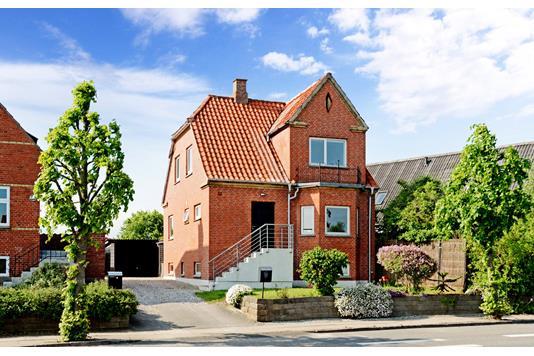 Villa på Jyllandsvej i Middelfart - Ejendommen