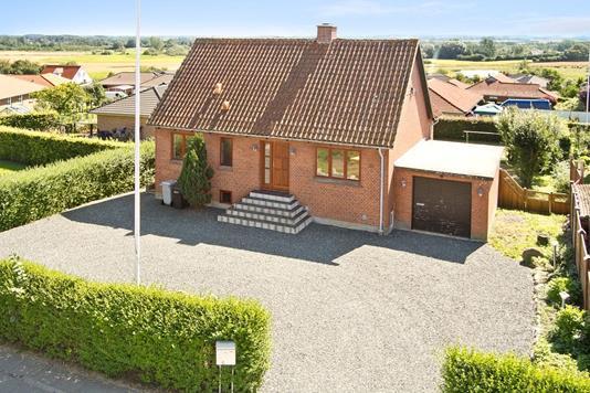 Villa på Nørregade i Ejby - Facade