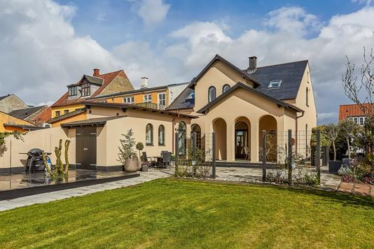 Villa på Hessgade i Middelfart - Terrasse