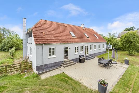 Villa på Volpeshøjvej i Brenderup Fyn - Mastefoto