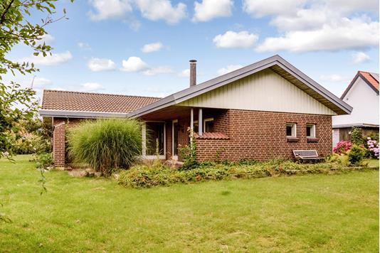 Villa på Møllebovænget i Fredericia - Have