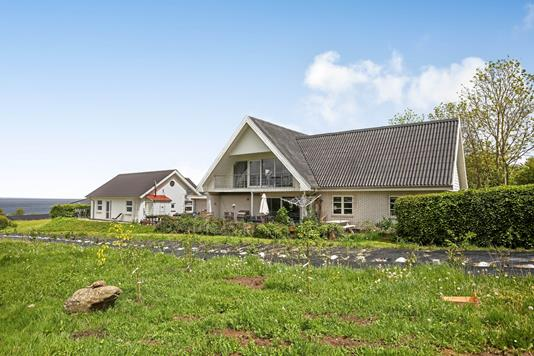 Villa på Kystvejen i Asperup - Ejendommen