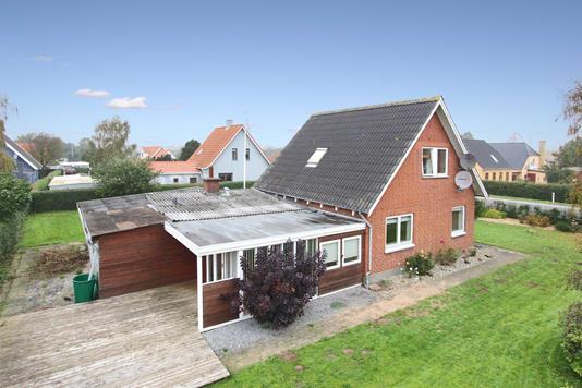 Villa på Fåborgvej i Assens - Mastefoto