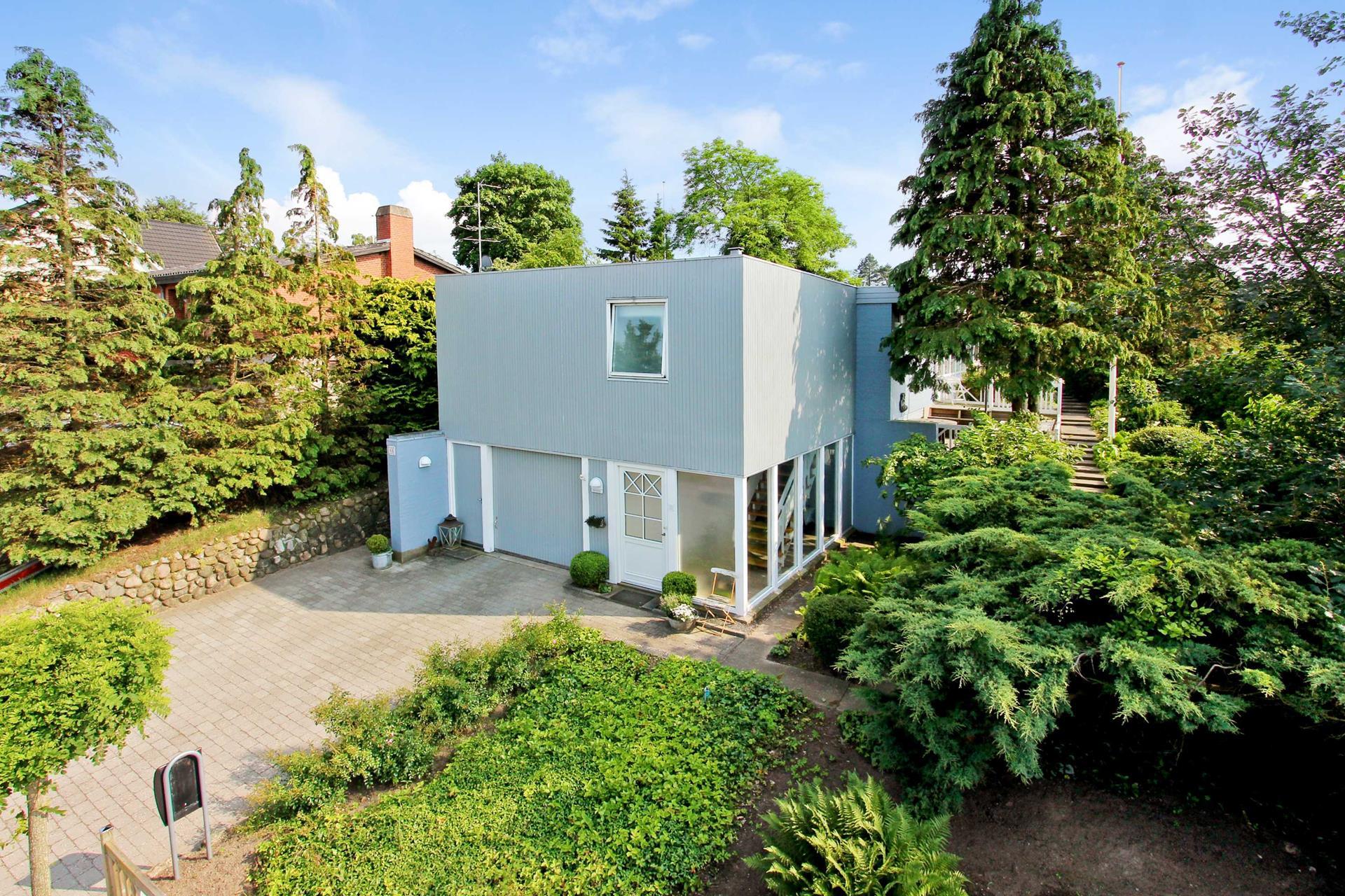 Villa på Pilehaven i Assens - Mastefoto