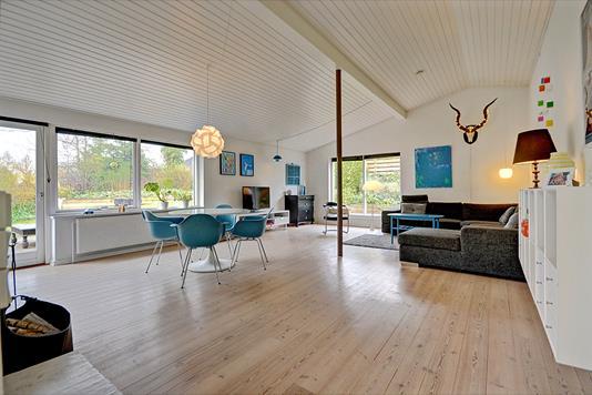 Villa på Bøgevej i Glamsbjerg - Stue