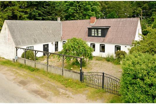 Villa på Hjerupgyde i Aarup - Ejendommen