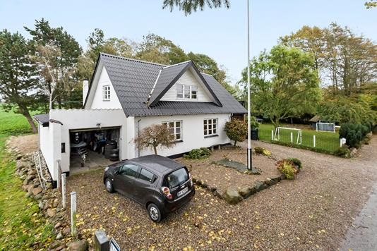 Villa på Lundagervej i Assens - Set fra vejen