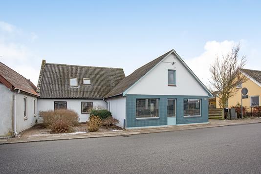 Villa på Søndergade i Gelsted - Ejendommen
