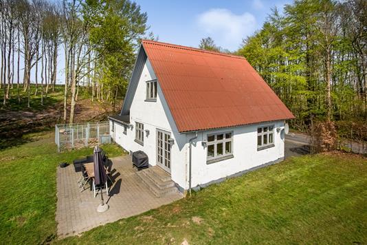 Villa på Ladegårdsskov i Aarup - Terrasse