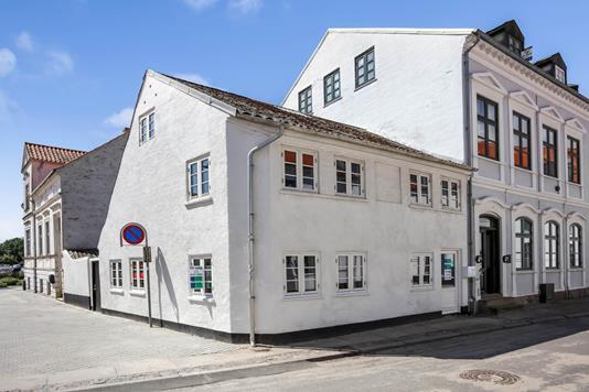 Rækkehus på Strandgade i Assens - Ejendommen