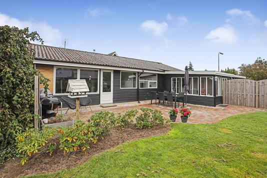 Villa på Korsvang i Assens - Terrasse