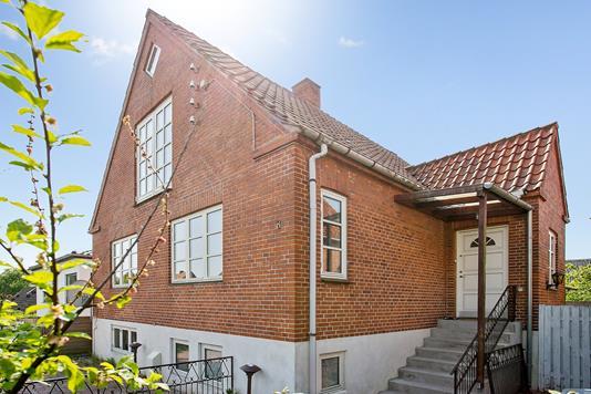 Villa på Sagasvej i Næstved - Ejendommen