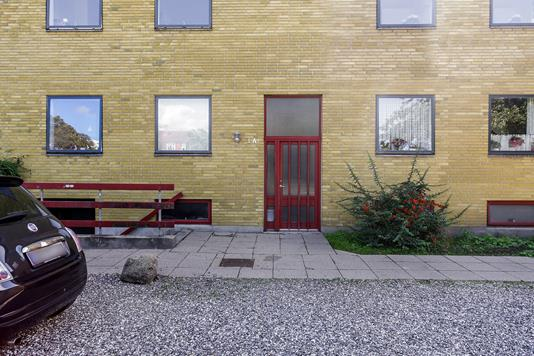 Ejerlejlighed på Kählersvej i Næstved - Indgangsparti
