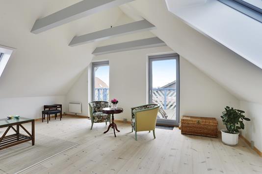 Villa på Fodbygårdsvej i Næstved - Stue