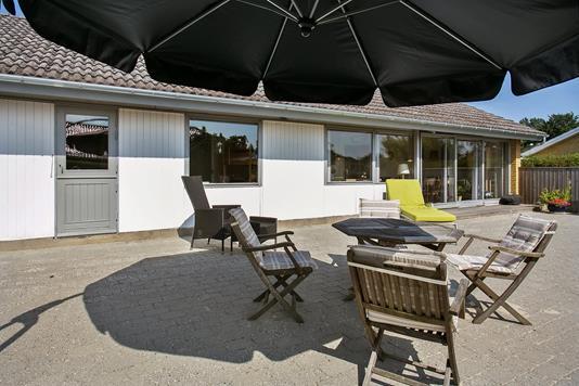 Villa på Lindevænget i Næstved - Terrasse