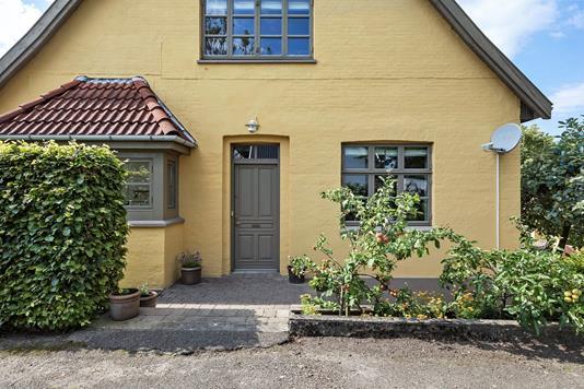 Villa på Dystedvej i Holmegaard - Facade