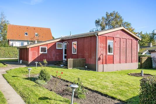 Villa på Tranevej i Næstved - Set fra vejen