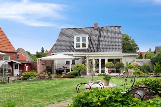 Villa på Jørgen Jensens Vej i Næstved - Set fra haven