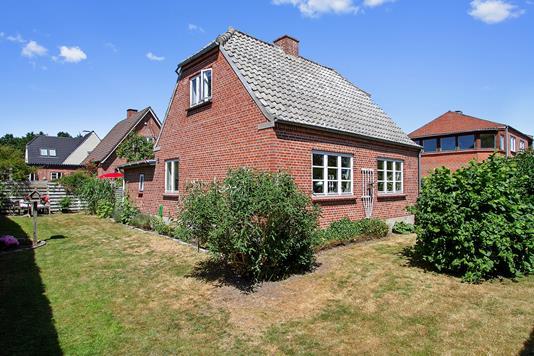 Villa på Grimstrupvej i Næstved - Set fra haven