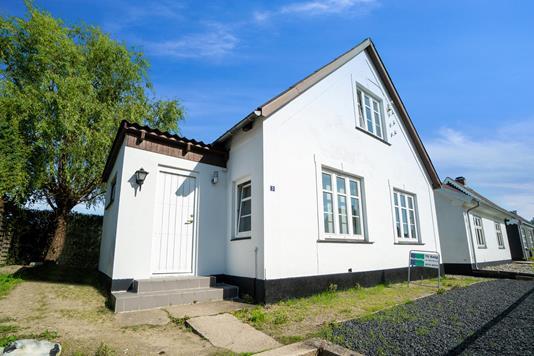 Villa på Meistersvej i Næstved - Set fra haven