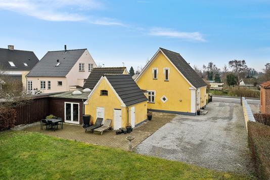 Villa på Skyttemarksvej i Næstved - Set fra haven