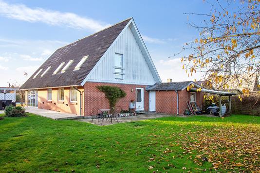 Villa på Horsebjergvej i Næstved - Set fra haven