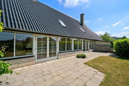 Villa på Bøgevænget i Næstved - Terrasse