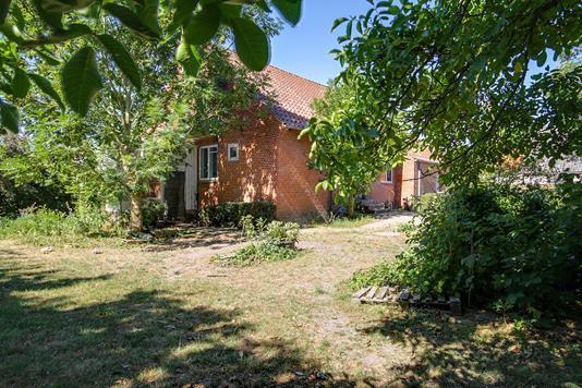 Villa på Marvedevej i Næstved - Set fra haven