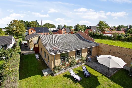 Villa på Sorøvej i Fuglebjerg - Set fra haven