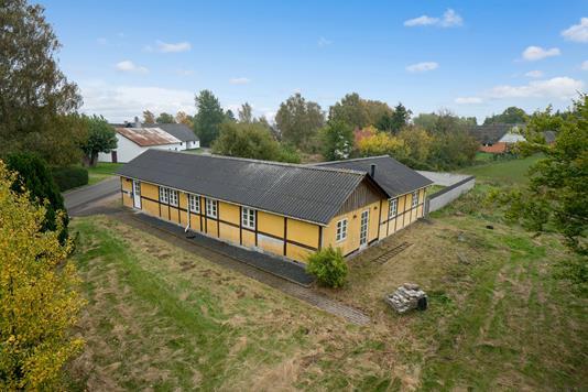Villa på Øllerupvej i Næstved - Set fra haven