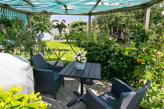 Villa på Skydevænget i Sandved - Have