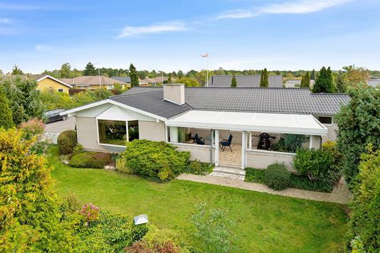 Villa på Lærkevænget i Næstved - Set fra haven